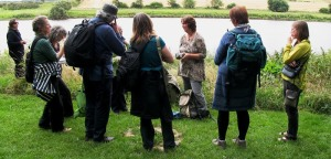 Ecologist Melanie Findlay at Paxton