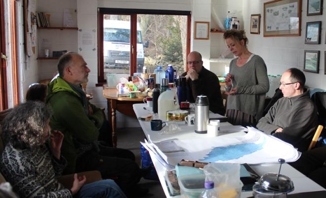 Working the Tweed Coldstream Lees 2 Photo J Horne